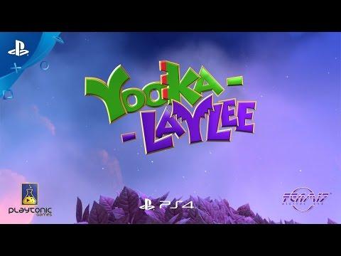 Yooka-Laylee - Glitterglaze Glacier Trailer | PS4
