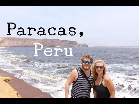 PARACAS - PERU - TRAVEL VLOG - The Adventures of Pip & Tobes