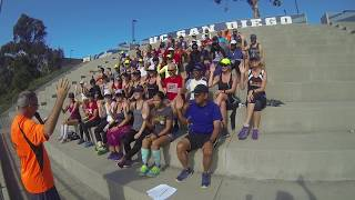 2017 San diego track clubs Oath Of Running . Raise your right hand