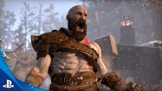 God of War - E3 2016 Gameplay Trailer | PS4(Here's the God of War gameplay trailer, which premiered at E3 2016. May contain content inappropriate for children, visit www.esrb.org for rating information., 2016-06-14T01:06:31.000Z)