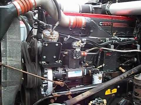 Thomas Hribar Truck Cummins N14 525 HP Engine  YouTube