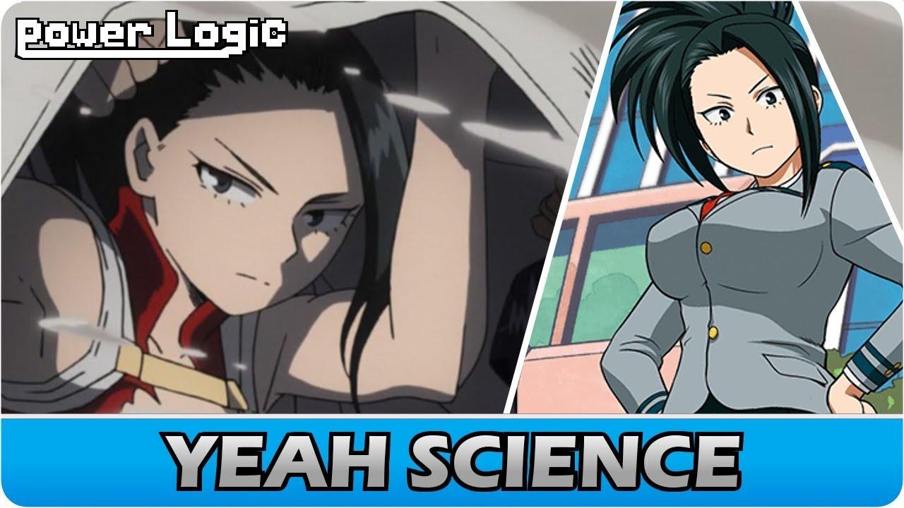 The Super Genius Behind Momo S Creation My Hero Academia Momo Yaoyorozu S Quirk Explained