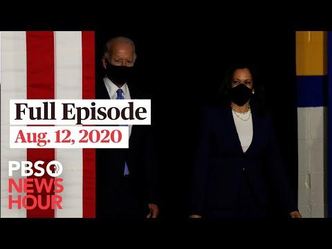 PBS NewsHour: PBS NewsHour West live episode, Aug. 12, 2020