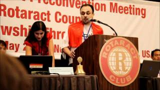 Rotaract - Invitation to INTEROTA 2011 in Egypt
