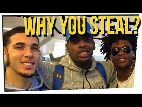 UCLA Basketball Players Arrested for Shoplifting ft. Philip Wang & DavidSoComedy