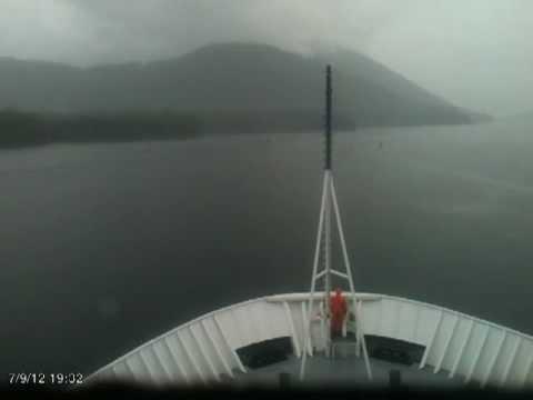 Wrangell Narrows time lapse