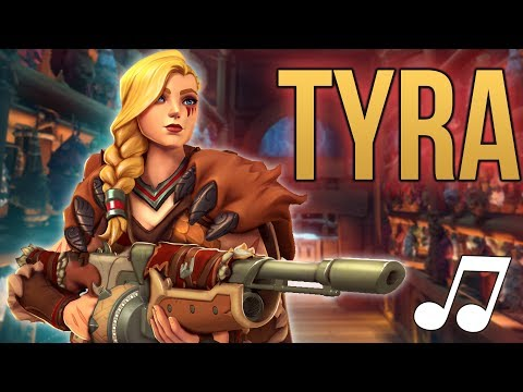 Paladins Song - Tyra (Pitbull  ft. Ke$ha - Timber PARODY) ♪