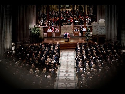 Washington bids farewell to President George H.W. Bush
