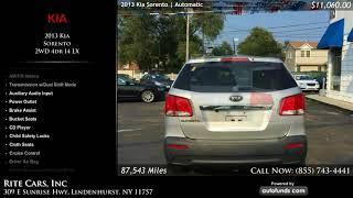 Used 2013 Kia Sorento | Rite Cars, Inc, Lindenhurst, NY