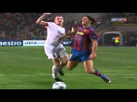 FC Barcelona UEFA Super Cup Winners 2009 vs Shakthar Donetsk 1 0