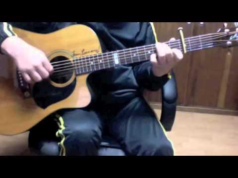 how to play feelin groovy on guitar