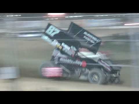 the a main at Fremont Speedway