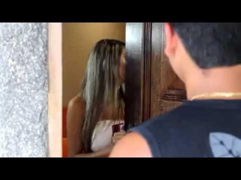 Real video de paja casero