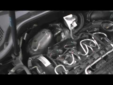 EGR VALVE DIAGNOSTIC CHECK ON AUDI A3 SPORTBACK 2010