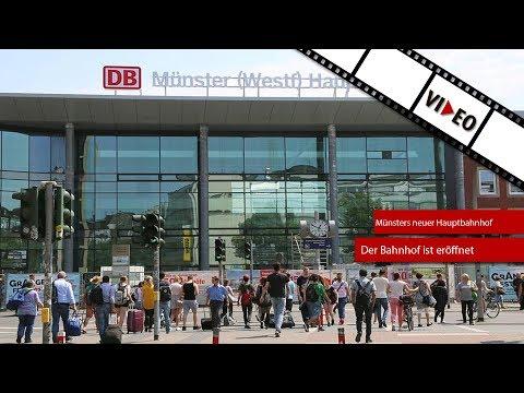 Der Hauptbahnhof Münster ist eröffnet!