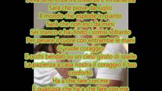 Tiziano Ferro - Il Conforto (ft. Carmen Consoli) - Testo
