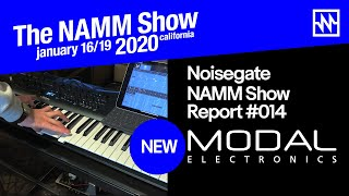 NAMM 2020: Modal Argon8X Wavetable Synthesiser