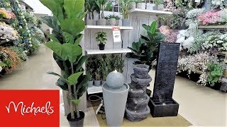 MICHAELS SPRING 2019 HOME DECOR - SHOP WITH ME SHOPPING STORE WALK THROUGH 4K