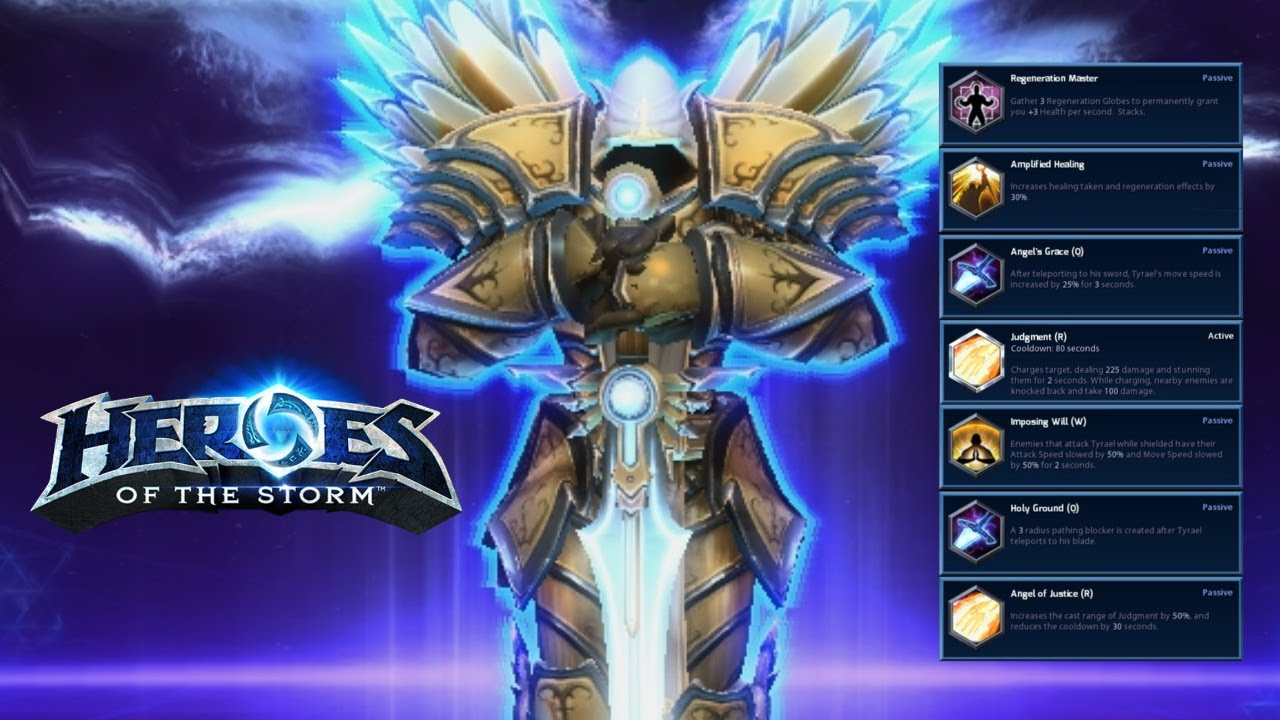 Heroes Of The Storm Build Tyrael