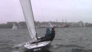 Tuesday Soling Racing: 5/27/14 Race 3