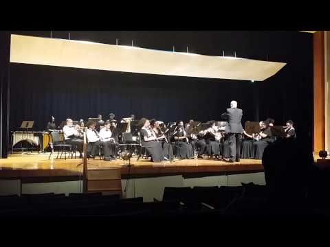 Suitland HS Concert Band and Drew Freeman Middle School   Spring 2014   Castle Hill Overture
