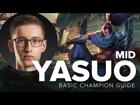 Yasuo Mid Bjergsen Carry Guide - Season 5 | League of Legends
