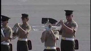 Parris Island Marine Band In the Stone