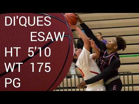 Di'Ques Esaw Mix 2016 17