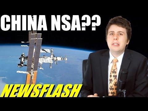 China Building Satellite World-Surveillance Grid?! - NEWSFLASH
