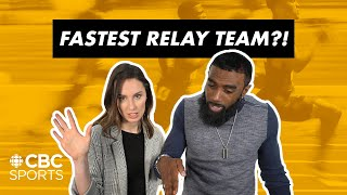 We Pick The Fastest Canadian Relay Team | Anson Henry & Jacqueline Doorey | CBC Sports