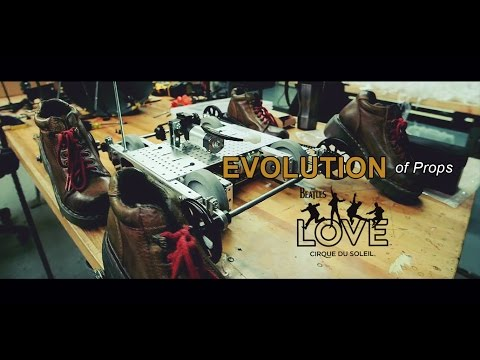 Evolution of Props | The Beatles LOVE by Cirque du Soleil | 10-Year Anniversary