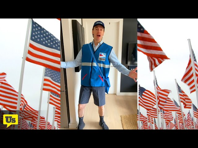 Broadway Star Erich Bergen sings to save the USPS