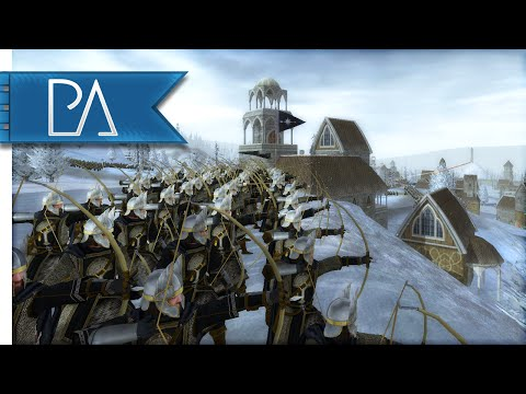 WITCH KING AT THE GATES - Third Age Total War Gameplay