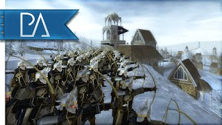 Repeat youtube video WITCH KING AT THE GATES - Third Age Total War Gameplay