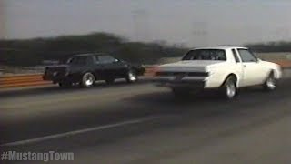 "'80s Flashback - Turbo Regal T-Type / Grand National ""Buick Battle"""
