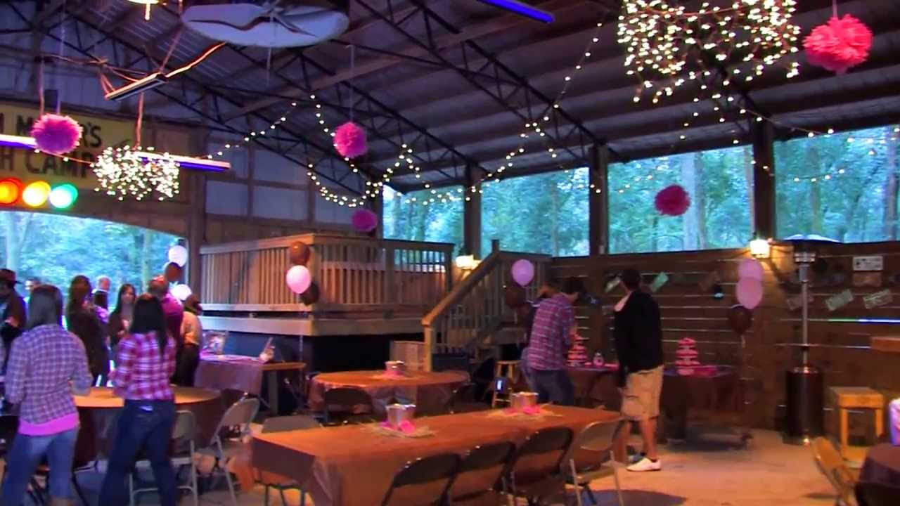 Sweet sixteen birthday party stay 39 n country ranch yulee for Decoration annee 80