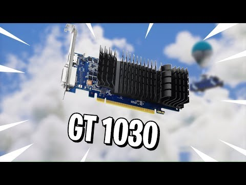 La GT 1030!!Sigue
