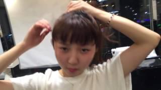 藤井夏恋 ヘアアレンジ HiGH&LOW 映画 美容室 美容院 ヘアサロン 奈良 ...