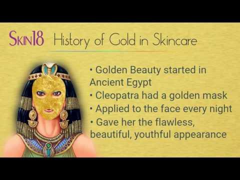Skin18 Ingredient Talk: G for Gold