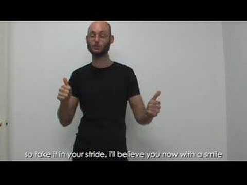 Sign Language Karaoke - Love Song