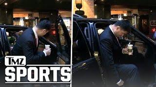 "Yao ming -- 7'6"" vs. passenger seat ... the struggle is real!!! | tmz sports"