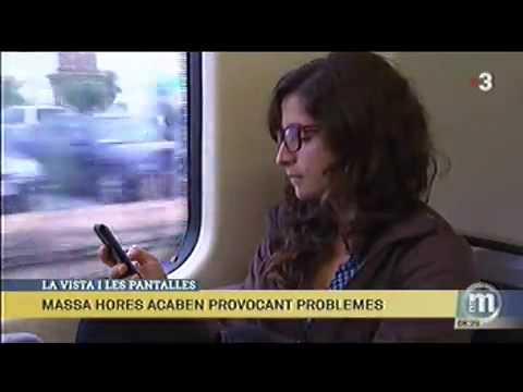 Campanya Visió i Pantalles - Emissió TV3 Els Matins