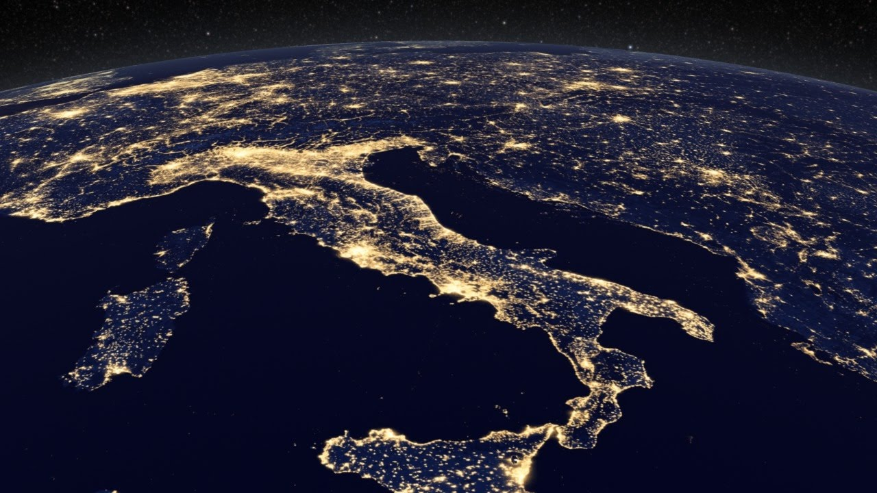 Image result for picture of the earth with lights