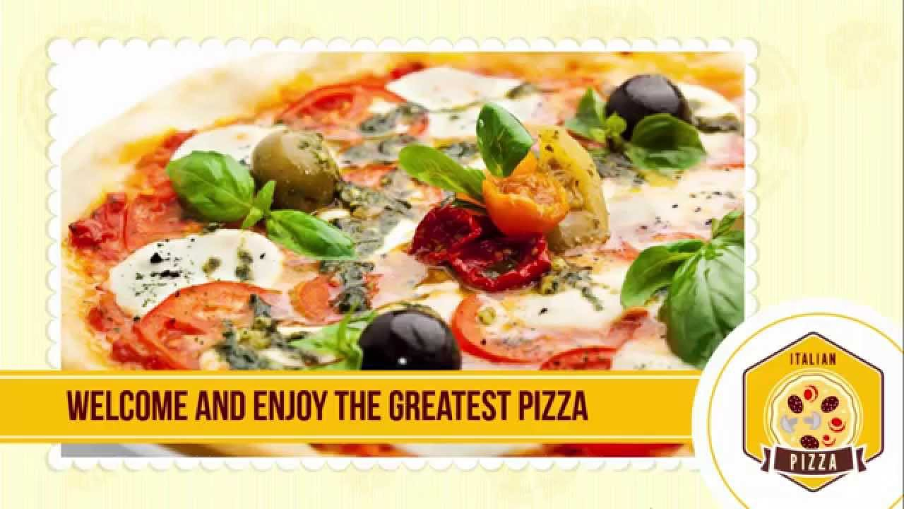 powerpoint templates free pizza restaurant youtube