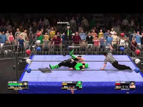 WWE2K16 Friday night Fury NOV 20th Green assassin vs Darnell beaver