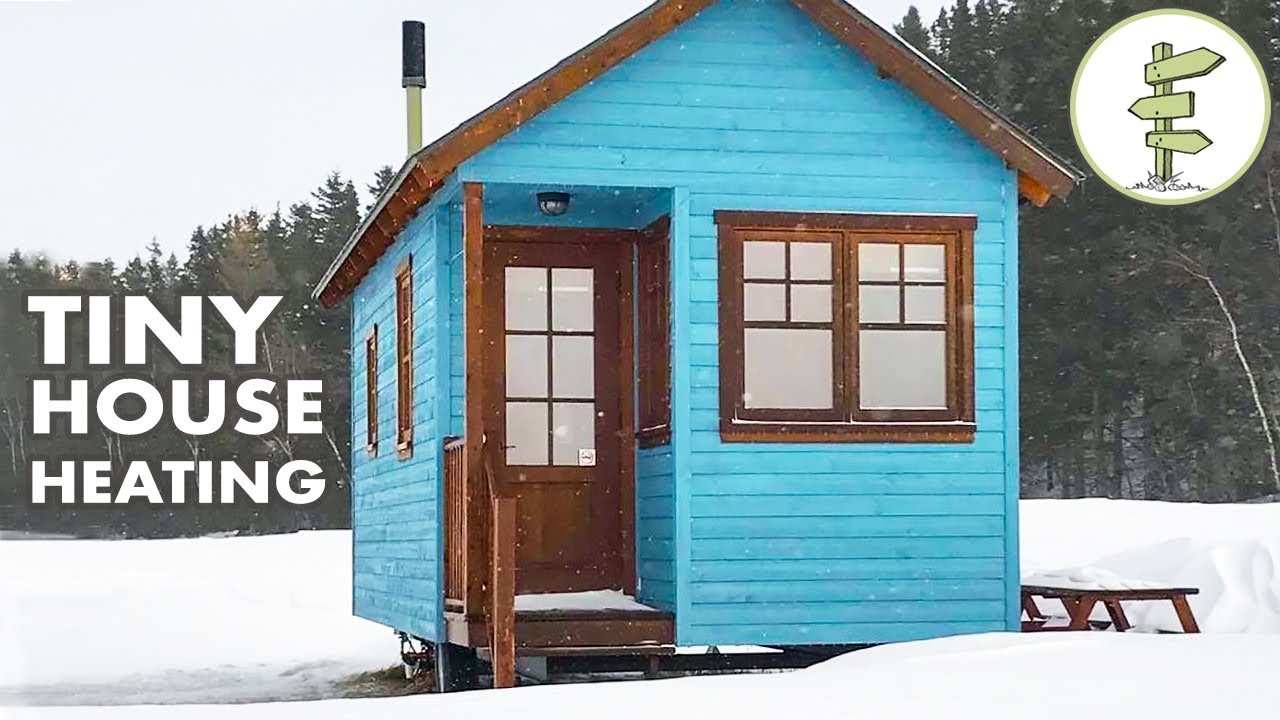 top 5 tiny house heating options for winter living - off grid & on