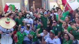 Festejo en Sonora por triunfo de México ante Alemania thumbnail