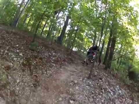 Bentonville, AR - EPIC Mountain Bike Trail Ride (GoPro Hero 2)