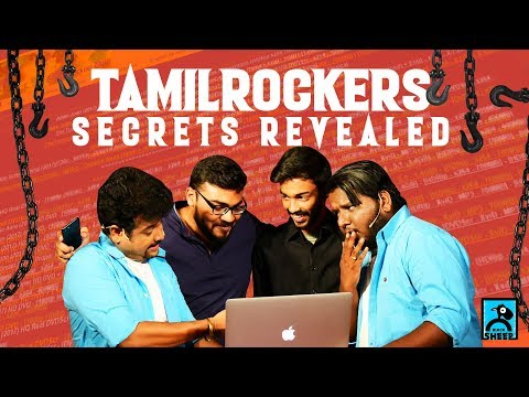 Tamil Rockers Secret Revealed | HACKERS #3 |Chutti & Vicky Show | Black Sheep