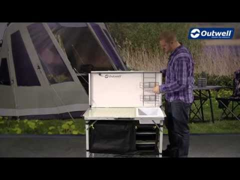 Outwell Drayton Kitchen Table | Innovative Family Camping